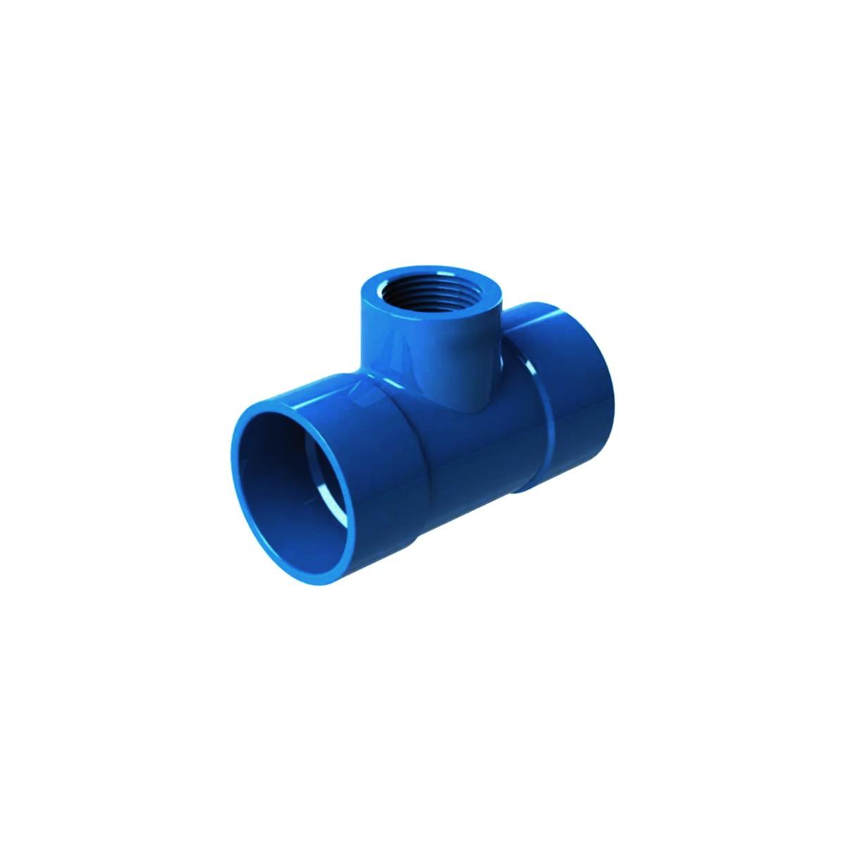 """Tê Derivador 32 mm x 3/4"""" para Irrigação"""