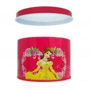 Caixa de Lata Bela Princesas Disney