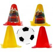 Kit Futebol Mini Cones com Bolinha Carros Disney