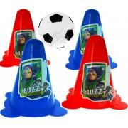 Kit Futebol Mini Cones com Bolinha Toy Story Disney