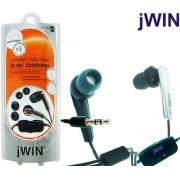 Fone de Ouvido com Controle de Volume JWin JH-E20