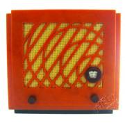 Réplica em Miniatura Radio Vintage 1934 Safar Usignolo AM/FM