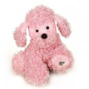Pelúcia Poodle Rosa Webkinz