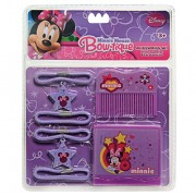 Kit de Beleza com Espelho Pente e Maria Chiquinhas Minnie Disney