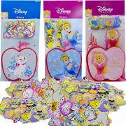 300 Mini Adesivos Princesas Cinderela Aurora E Gatinha Marie