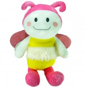 Pelúcia Abelha Pink Baby - Manuque Baby