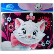 Quebra Cabeça Cartonado de 63 Peças Marie Disney