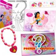 Sacolinha Divertida com Pulseira Jasmine Princesas Disney