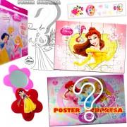 Sacolinha Divertida  Bela com Espelho Princesas Disney