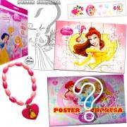 Sacolinha Divertida Bela com Pulseira Princesas Disney