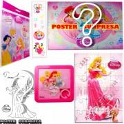Sacolinha Divertida Aurora com Quebra-Cuca Princesas Disney