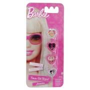 Kit com 4 Anéis Infantil Barbie - Zippy Toys