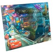 Porta Retrato Cartonado Infantil Carros Disney