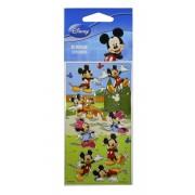Kit Com 10 Cartelas de Adesivos Mickey e Minnie Disney