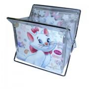 Porta Treco Porta Lápis Gatinha Marie Disney