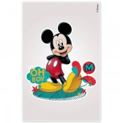 Kit Com 10 Cartelas de Adesivo de Parede Noturno Mickey Disney - Gedex