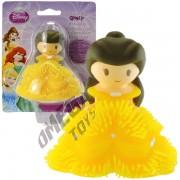 Mini Boneca de Borracha com Luz Bela Princesas Disney - Toyng