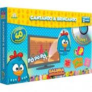 Jogo Da Memória + DVD Cantando e Brincando Galinha Pintadinha - Toyster