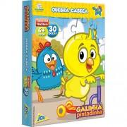 Quebra Cabeça de 30 Peças Galinha Pintadinha e Pintinho Amarelinho - Toyster