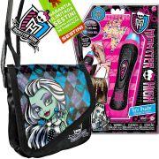 Aplicador de Contas Tererê Monster High Intek e Bolsinha Frankie Stein Mattel