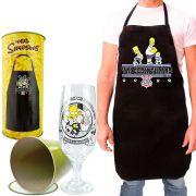 Avental e Taça Homer Simpsons Corinthians Edição Especial