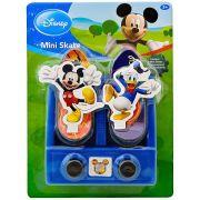 Base Lançadora Com 2 Mini Skate De Dedo Mickey E Donald