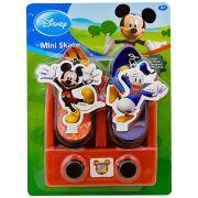 Base Lançadora Com 2 Mini Skate Mickey E Donald Vermelho