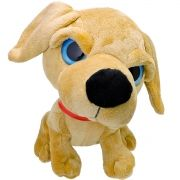 Bicho de Pelúcia Importada Cachorro Filhote Labrador