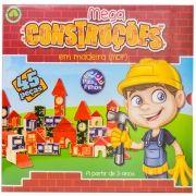 Blocos de Madeira Mega Construções - Pais e Filhos
