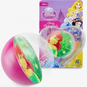 Bolinha de Silicone Importada Sereia Ariel Princesas Disney