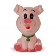 Boneco de Vinil Porquinho Coleção Bichinhos para Bebê - Maralex