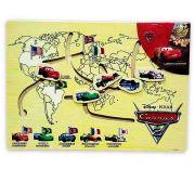 Brinquedo de Madeira Labirinto Divertido Carros Disney - Toyng