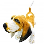 Cachorro de Pelúcia Grande comprimento 64 cm