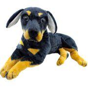 Cachorro de Pelúcia Rottweiler Filhote 52 cm  Fizzy