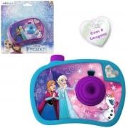 Camera Projetora de Imagens Coloridas Frozen Disney