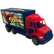 Caminhão de Plástico a Fricção Homem Aranha Marvel