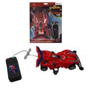 Carrinho de Controle Remoto com Fio Homem Aranha Marvel