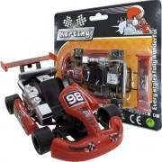 Carrinho Fricção Karting Vermelho