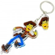 Chaveiro Acrílico Woody Toy Story Disney