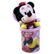 Coleção Chaveiro de Pelúcia com Lata Porta Treco Minnie Disney - Taimes