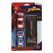 Kit Lance seu Carrinho com 2 Carrinhos e Lançador Homem Aranha Marvel