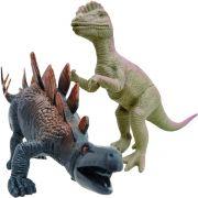 Coleção com 2 Dinossauros Animais Jurássicos