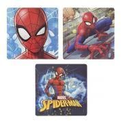 Coleção com 3 Quebra Cabeças Homem Aranha Marvel
