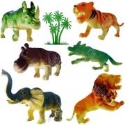 Coleção com 6 Mini Animais Selvagens