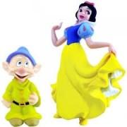 Coleção Minhas Miniaturas Disney Branca De Neve E Anão Dunga