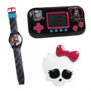 Coleção Mini Game + Relógio de Pulso + Rádio Frankie Stein Monster High - Candide