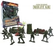 Kit Mini Soldados e Tanque de Guerra Operação Militar - Cim Toys