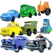 Combo 8 Mini Carrinhos Personagens Carros Disney  Sacolinhas Surpresa 40 Itens