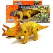 Dinossauro com Som Luz e Movimento Triceratops