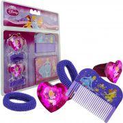Espelho De Bolsa Infantil Com Acessórios Princesas Disney